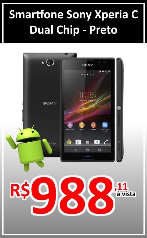 Smartfone Sony Xperia C